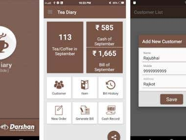 coffee delivery app