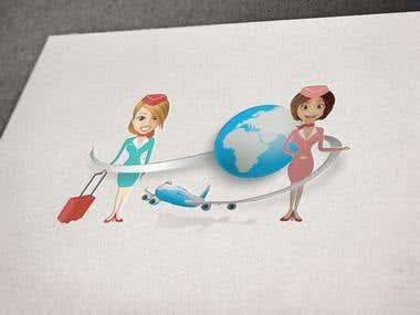 Air services logo