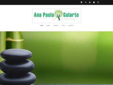Ana Paula Gularte Website