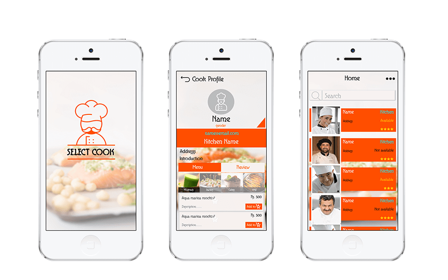 Select Cook: Chef Finder & Net