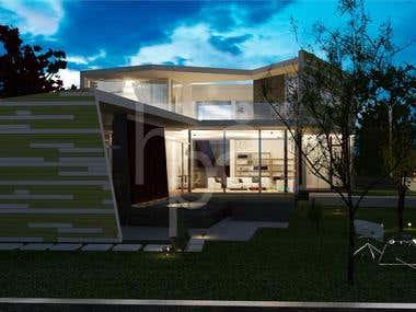3D model & render.