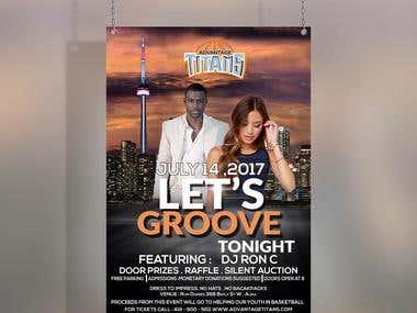 #Flyer for a DJ client