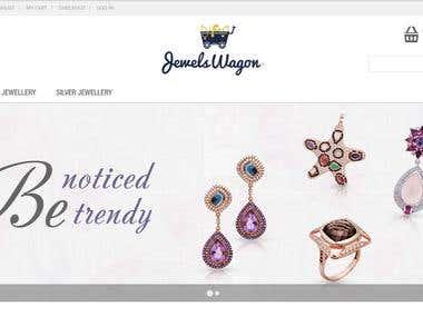 Jewels Wagon (Magento)
