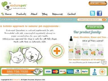 Endurapet on shopify