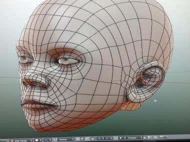 Topology of Head Model