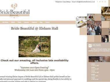 Bride Beautiful website