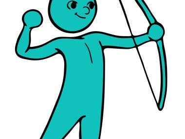 Company Mascot Illustration
