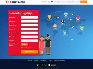 Student-Teacher Social Networking site - www.youthsunite.com