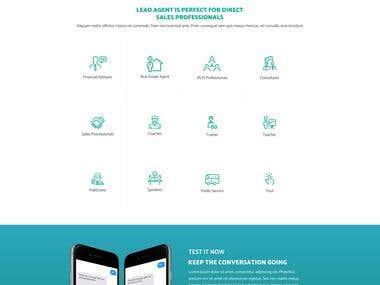 Leadagent Website Design