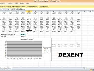 Excel Engineering work