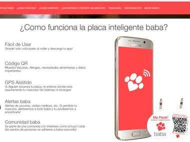 Sitio web y app android