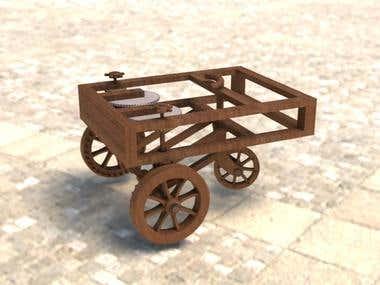 Leonardo da Vinci's car.
