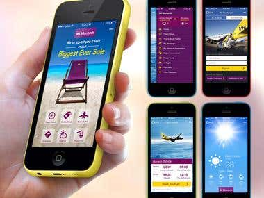 Monarch Airlines - Smartphone App