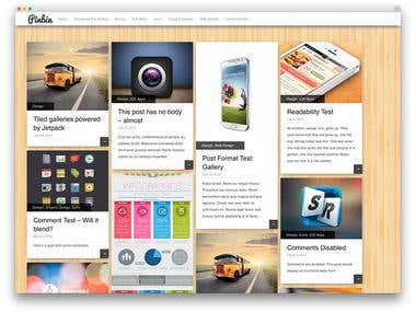 Beautiful& Free WordPress Website