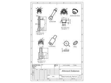 Mechanical Pencil (educational project)