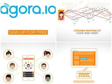 Agora file sharing App video