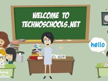 Techno Schools Feature Animation Video