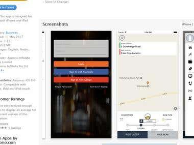 On demand Taxi App
