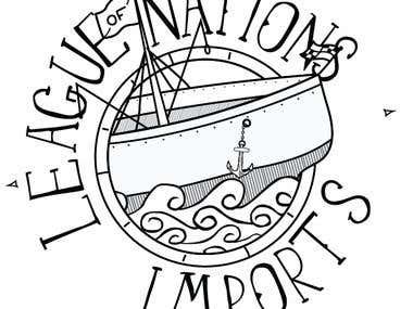 League of Nations Imports Logo