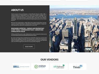 Hemb Insurance Grop, LLC Website Design