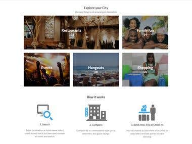 Hotel Booking Site - www.nitestay.com