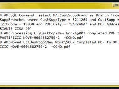 PDF to XML Converter