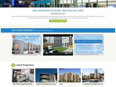 "Real Estate site with ""Draw Search"" - www.urbanuptown.com"