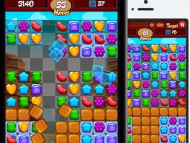 Candy Crush Clone Reskin