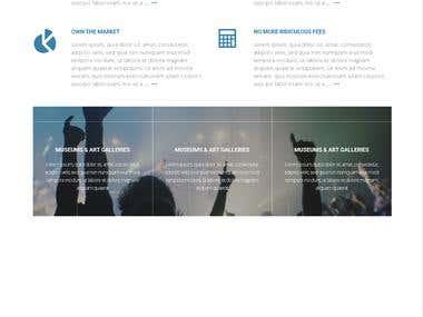 Development of a music portal