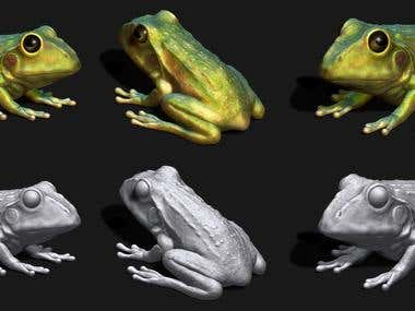 Zbrush Toad