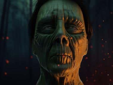 Zbrush Zombie Sculpt