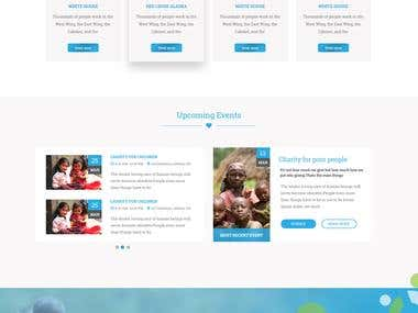 UI/UX DESIGN FOR CHARITY NETWORK