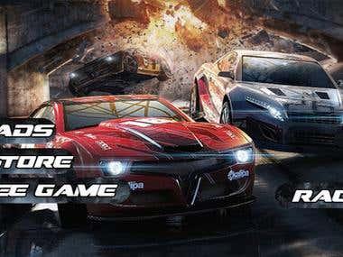 Top Traffic Racer 3D (Unity3d)