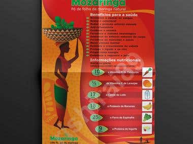 POSTER DESIGNED FOR MOZAMBIQUE TEA COMPANY.