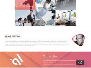 Website Design and Development.