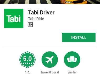 Tabi Ride - Driver Application