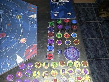 Board Game (Aliança Espacial) Space Alliance