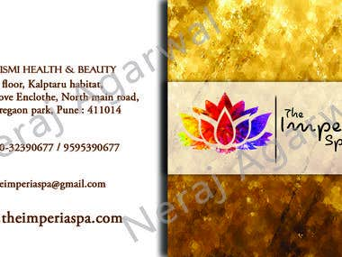 Business Card for SPA