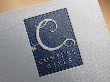 Logo design for wine agency