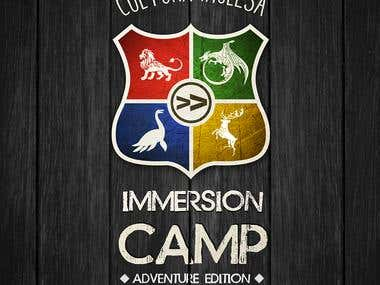 Immersion Camp Logo