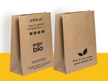 Bolsas para tienda Ecologica