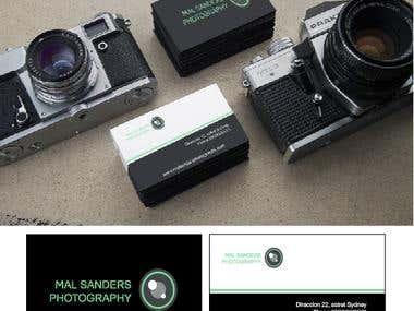Tarjetas para Fotografo