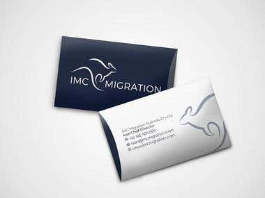 Business Card IMC inmigration