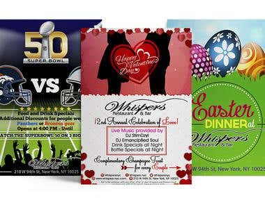 Flyers for Events
