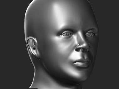 3d Human Sculpting