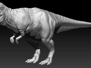 Zbrush T-rex