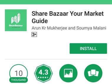 Share Bazaar App