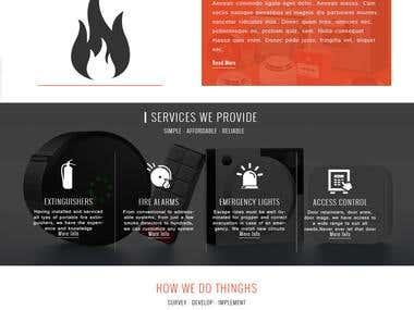 HTML5 Production - Website Mockup Design.