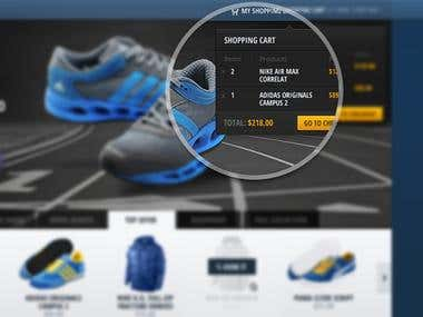 Online Sport Equipment Store