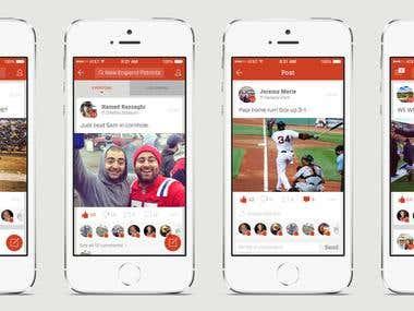 Social Grid App.